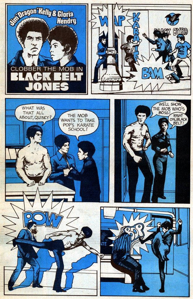 Black Belt Jones comic
