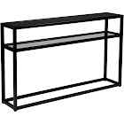 Holly & Martin Baldrick Console Table, Matte Black