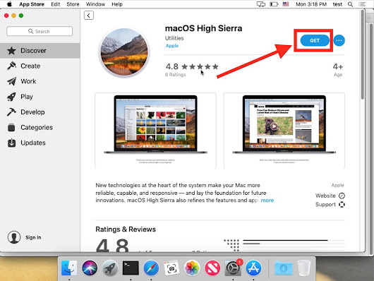 How to Download MacOS High Sierra from MacOS Mojave
