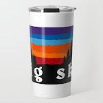 Big Sky Montana Ski Snowboard Resort Travel Coffee Mug by Letourneau41 - 20 oz