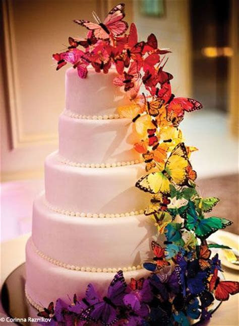 pretty   I LOVE THIS CAKE!!!!! Our them is butterfly