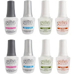 Gelish Fantastic Four Essentials Collection Soak Off Gel Nail Polish (2 Pack) by VM Express