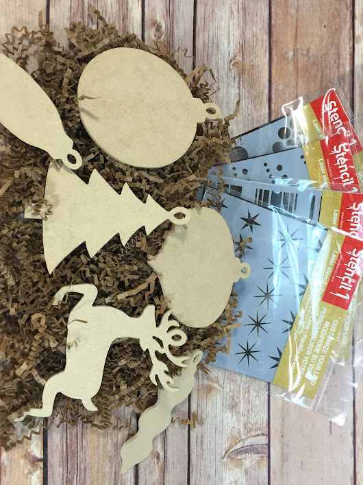 Ornament and Stencil Kit