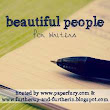 Beautiful People #22 **Couples Edition**
