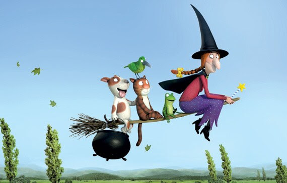 "The Oscar-nominated ""Room on the Broom"" is quite a ride. (Magic Light Pictures)"