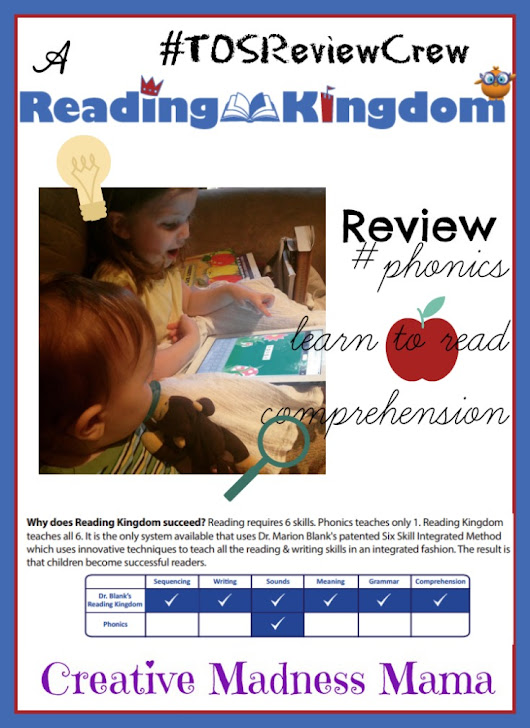 Learn to read with Reading Kingdom (Online App) {Review}