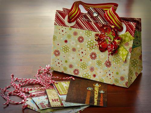 Kim Watson+Paper purse & tags
