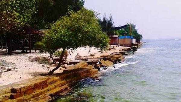 Pulau Bidadari, Kepulauan Seribu, Jakarta (Foto: Winda/Okezone)