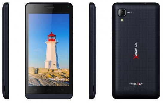 Symphony Xplorer W75 Full Phone Specifications & Price