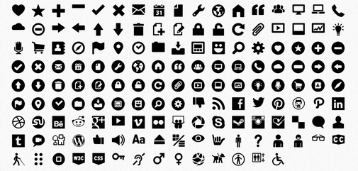 The Most Comprehensive Index Of Free Icon Fonts/Iconic Web