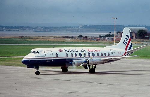 BAF's Vickers Viscount 800