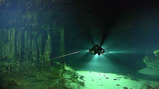 A cryptic sunken underworld of flooded caves and subterranean rivers has been revealed by scientists