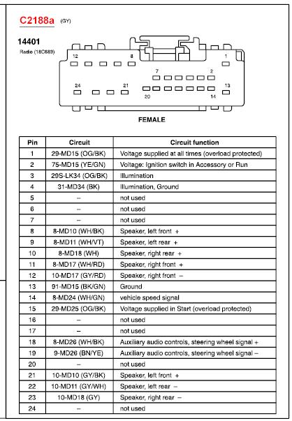 31 2007 Ford Fusion Radio Wiring Diagram