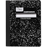 Mead Composition Book, College Rule, White - 100 sheets