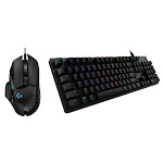 Logitech G502 Gaming Mouse and G512 Gaming Keyboard Bundle