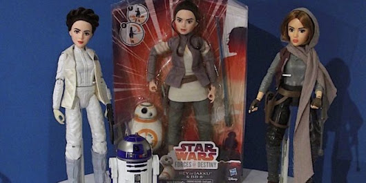 Our Sneak Peek at Hasbro's STAR WARS FORCES OF DESTINY Adventure Figures