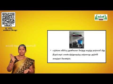 11th  Nursing பொது நோயாளியின் சுற்றுப்புற சுகாதாரம் அலகு 7  பகுதி 2  Kalvi TV