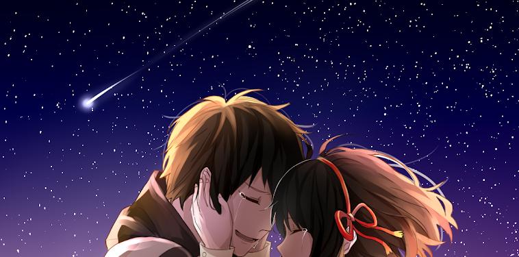 Kawaii Amor Romance Na Wa Frases Kimi No Dibujos De Anime