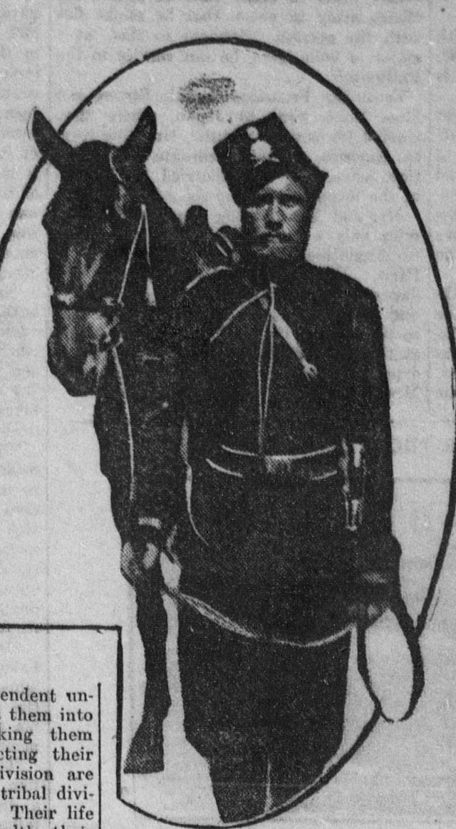 A don cossack and his horse, 1904.jpg