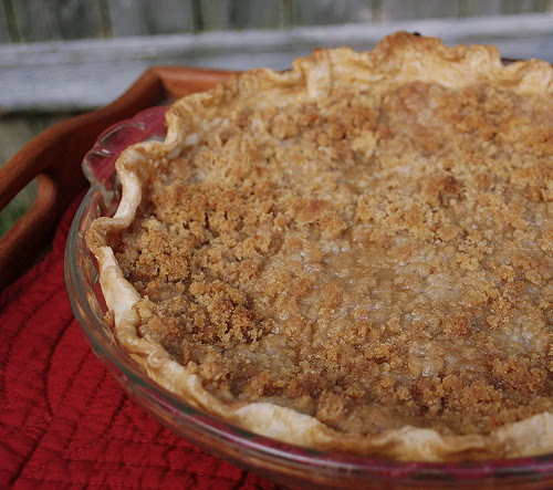 Grated Apple Pie in tray 1