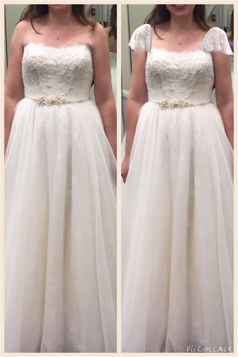 Adding cap sleeves to my dress  can't decide!