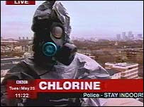 Lethal Chlorine Cloud Drifts Across East London