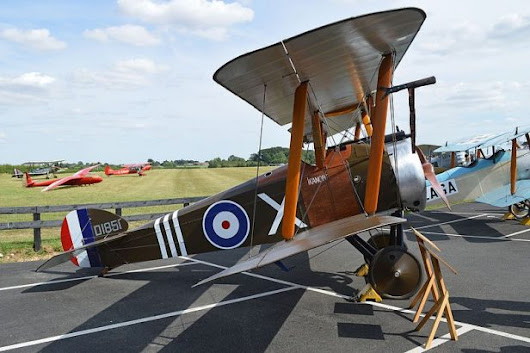 Watch Shuttleworth's New Sopwith Camel Perform Its Debut Display [Video]