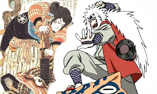 The Tale of The Gallant Jiraiya (Original Folklore) - from Edo Period
