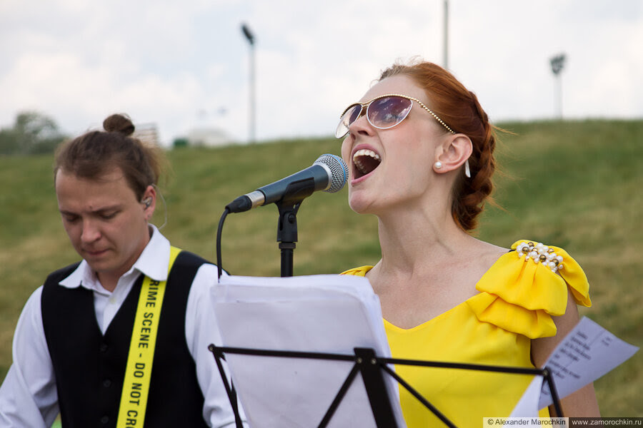 Группа Патефон на Дне города в Саранске