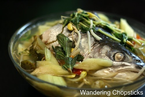 Wandering chopsticks vietnamese food recipes and more for Fish head soup recipe