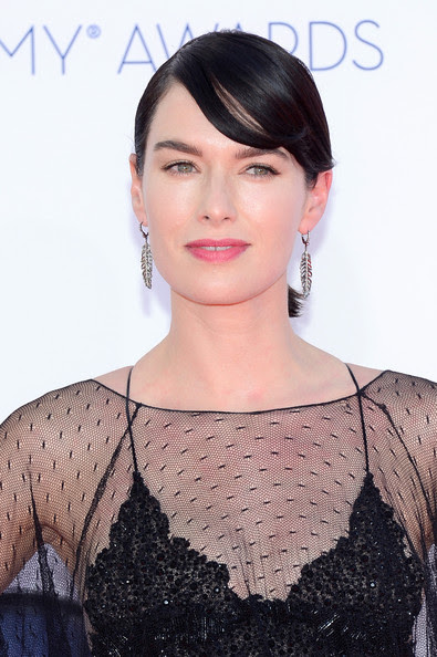 Actress Lena Headey arrives at the 64th Annual Primetime Emmy Awards at Nokia Theatre L.A. Live on September 23, 2012 in Los Angeles, California.