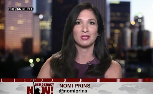 Nomi Prins: Bank CEO Let Thousands Take the Fall - The Daily Reckoning
