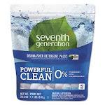 Seventh Generation Natural Dishwasher Detergent Pacs, 45 Pacs (SEV22897)