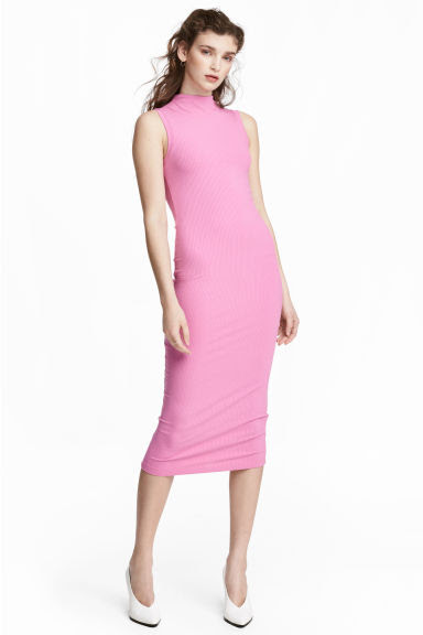 H&m pink bodycon dress