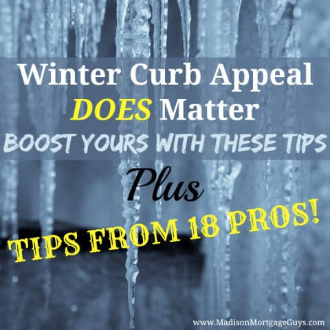 Winter Curb Appeal DOES Matter: Boost Yours w/ These Tips