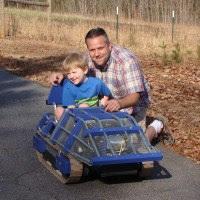 DIY Mini Tracked Vehicle