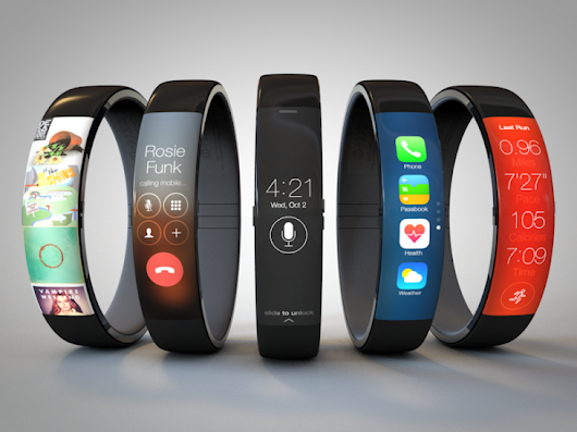 Apple, please use this gorgeous FuelBand-inspired concept design for the iWatch