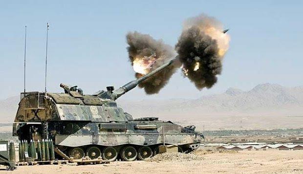 Inilah 6 Howitzer Self Propelled Terbaik di Dunia