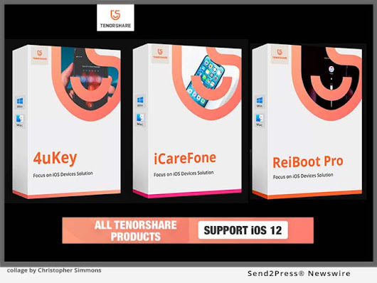 All Tenorshare Software is now Compatible with iOS 12 | Send2Press Newswire