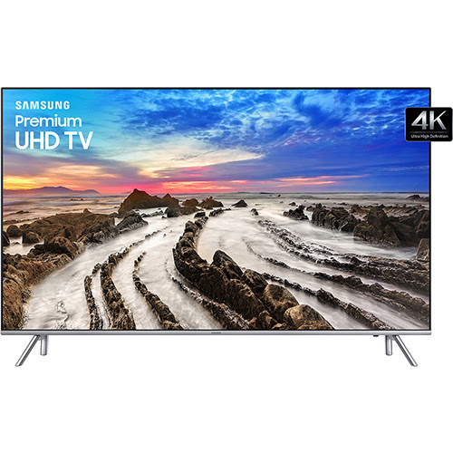 "Smart Tv Led 55"" Samsung UN55MU7000GXZD Ultra HD 4k com Conversor Digital 4 HDMI 3 USB Wi-Fi Smart Tizen Controle Remoto Único 120Hz - Submarino.com"