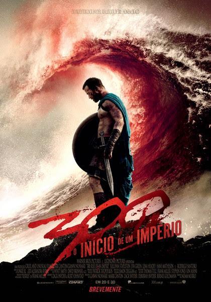 300 Cartaz 2 PT أكثر 20 فيلم تعرّضاً للقرصنة في 2014