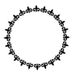 vector de marcos modernos circulares. imagen vectorial.   Marcos y ...
