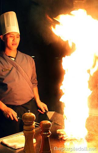 Chef Bibong Flame Teppanyaki