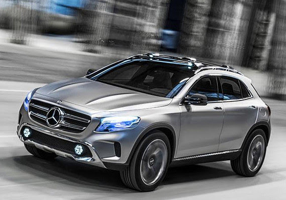 New Mercedes crossover aims for younger audience - MarketWatch