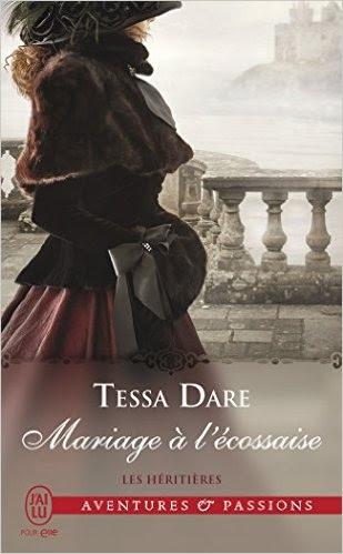 Couverture Les héritières, tome 3 : Mariage à l'Ecossaise