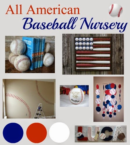 All American Baseball Nursery Inspiration - Leah With Love