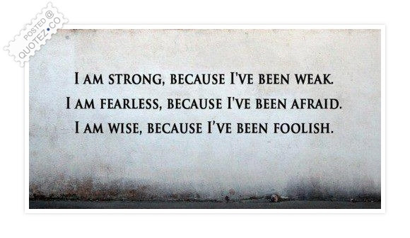 I Am Strong Fearless And Wise Motivational Quote Quotezco