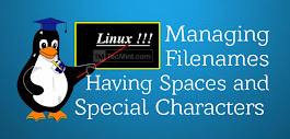How to Manipulate Filenames Having Spaces and Special Characters in Linux