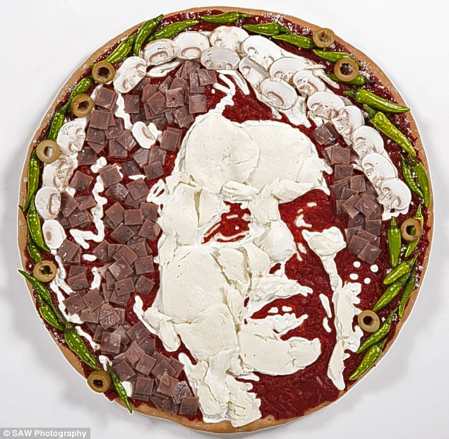 This lady pizza's not for burning: The late  Baroness Thatcher