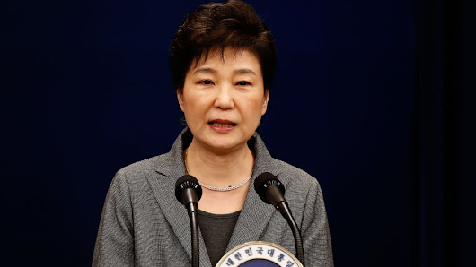 South Korea president Park Geun-hye is impeached